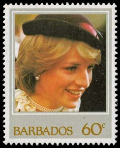 Barbados - Scott 586 - Mint-Never-Hinged