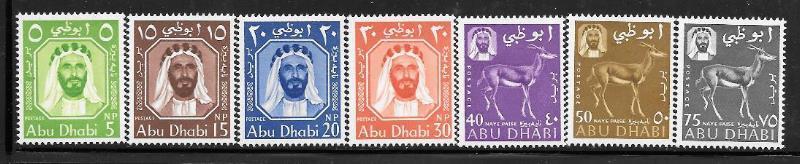 Abu Dhabi 1 - 7 mh 2013 SCV $35.25 #4 has small adhesion, reverse center