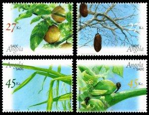 Angola 2004 Scott #1261-1264 Mint Never Hinged