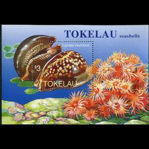 TOKELAU 1996 - Scott# 236 S/S Seashells NH