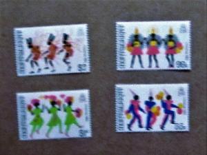 Montserrat - 516-19, MNH Set. Christmas Carnival, 1983. SCV - $1.25