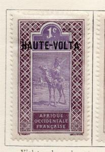 Upper Volta 1920-28 Optd Haute-Volta Early Issue Fine Mint Hinged 1c. 141312