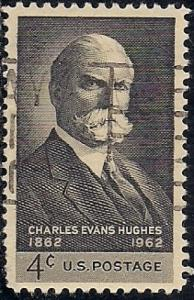 1195 4 cent Charles Evans Hughes VF used