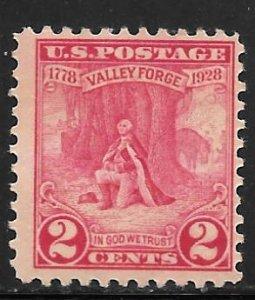 USA 645: 2c Washington, MNH, F