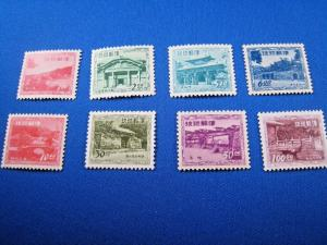 RYUKYU ISLANDS - SCOTT #19-26   -  MNH           (alb31)