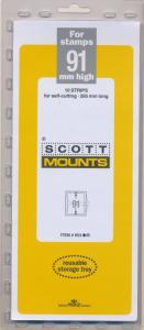 Prinz Scott Stamp Mount 91/265 BLACK Background Pack of 10