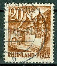 Germany - French Occupation - Rhine Palatinate - Scott 6N23