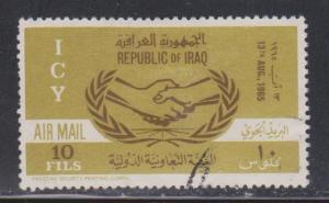 IRAQ Scott # C10 Used - ICY Airmail