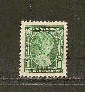 Canada 211 Princess Elizabeth Single MNH
