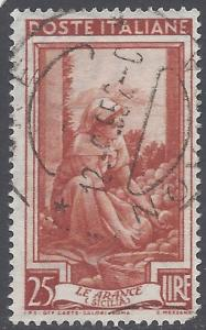 Italy 1950 #558 Used