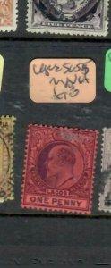 LAGOS (P1211B)  KE 1D  SG 55    MNH
