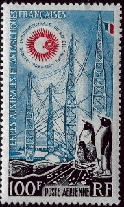 Dramatic FSAT TAAF C6 MNH VF...Antarctic or bust!