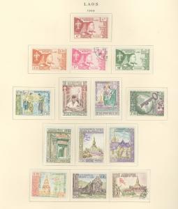 Laos 52-64 Mint VF H