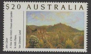 AUSTRALIA SG1201a 1989 $20 BOTANIC GARDENS MNH