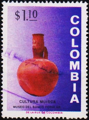 Colombia. 1973 1p10 S.G.1336 Fine Used