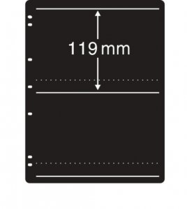 Prinz System Stock Sheets Single Sided 7 Hole Punch - 2 Strip Pocket  (10 pages)