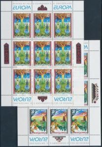 Makedonien stamp Europa CEPT Myths and legends mini sheet set 1997 MNH WS185923