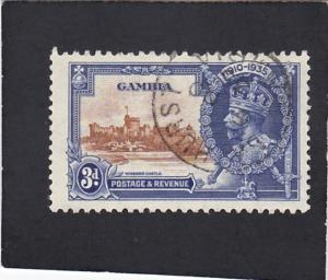 GAMBIA  #   126  used