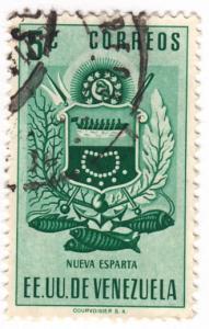 Venezuela, Scott #  618, Used