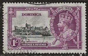 Dominica | Scott # 93 - Used