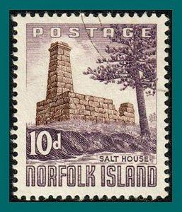 Norfolk Island 1961 Salt House, used #35,SG30
