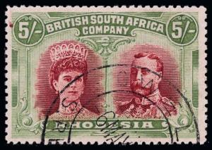Rhodesia Scott 115 Gibbons 160a Used Stamp
