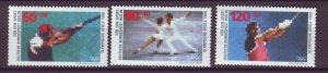 J24994 JLstamps 1988 germany berlin set mnh #9nb254-6 sports