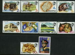 Lesotho Scott #199 - #208 Mint Never Hinged