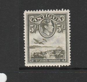 Antigua 1938 5/- MM SG 107