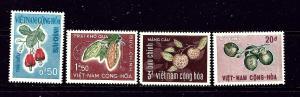 South Vietnam 301-04 MNH 1967 set