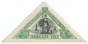 (I.B-CK) Cinderella : 4th Philatelic Congress (Margate 1912)