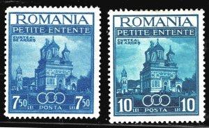 Romania 467-468 - MH