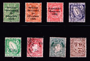 ICELAND STAMP USED STAMPS COLLECTION LOT  #3