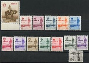 SOMALIA   SCOTT#B38/51 KING'S VISIT  MINT  HINGED --SCOTT VALUE $372.50