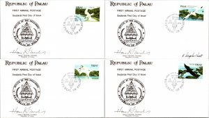 Palau, Worldwide First Day Cover, Birds