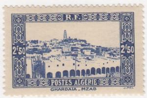 Algeria, Sc # 103, MH, 1936-41, View of Ghardara