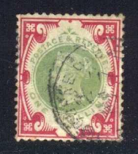 Great Britain #126 Queen Victoria, used (135.00)