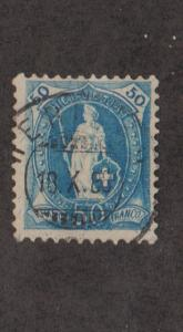 Switzerland #86 Used