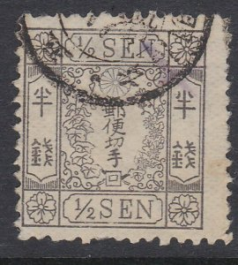 JAPAN  An old forgery of a classic stamp....................................C884