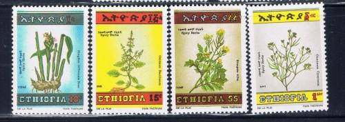 Ethiopia 1144-47 NH 1986 Spices