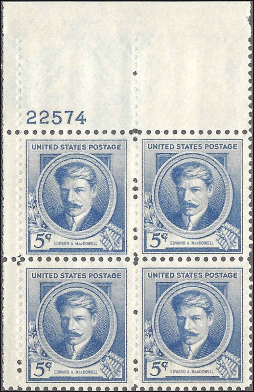 882 Mint,OG,NH... Plate Block of 4... SCV $9.00
