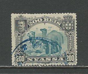 Nyassa Scott catalogue # 38 Used