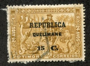 Quelimane, Scott #24 Used