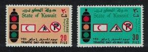 Kuwait Traffic Day Transport 2v 1970 MNH SC#504-505 SG#501-502