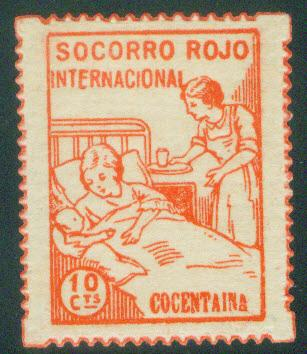 SPAIN Civil War Repubublic 1938 COCENTAINA GG 400