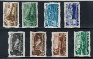 Russia #1261 - #1264 & #1280 - #1283 Very Fine Mint Sets Full Original Gum Hinge