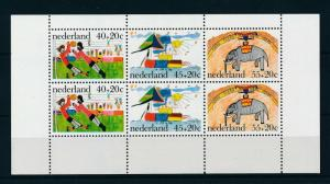 [16864] Netherlands 1976 Child Welfare Football Elephant SS Sheet MNH NVPH 1107
