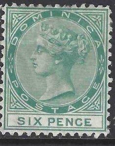 Dominica 1874 SC 2 Mint