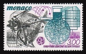 Monaco 1476,MNH.Michel 1696. Scientific Research Center-25,1985.