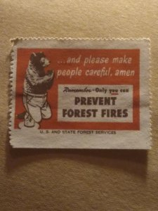 US  prevent forest fires mint
